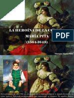 Mariana Flores Melo - La Heroína de La Coruña, María Pita, 1564 - 1643