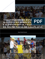 Juan Carlos Escotet - Voluntarios de Banesco, En Alianza Con Directv, Unicasa y Alfonzo Rivas, Celebraron El Día Mundial de Las Playas