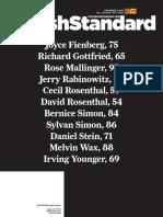 Jewish Standard, November 2, 2018