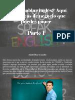 Danilo Diaz Granados - ¿Sabes Hablar Inglés?, Aquí Hay 5 Ideas de Negocio Que Puedes Poner, Parte I