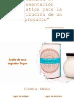 Evidencia 2.6 presentación logística para la distribución de un producto