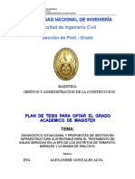 Plan de Tesis Aga