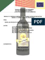 Perfil de Proyecto - Grupo Ewekema - Avances 13-12-13 Último
