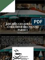 Lope Hernán Chacón - Los Más Grandes Cafés Literarios Del Mundo, Parte I