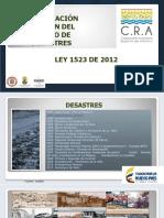 CAPACITACION SNPAD - LEY 1523 DE 2012.ppt