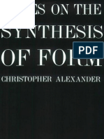 Alexander Christopher Notes on the Synthesis of Form