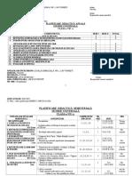 Planificare Cls a Vii-A-Istorie-An Școlar 2018-2019