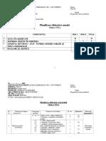 Planificare Cultură Civică-cls. a VII-A-AN ȘCOLAR 2018-2019