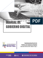 Manual de Gobierno Digital