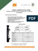 Ficha Cilindros Hidraulicos MDA2018