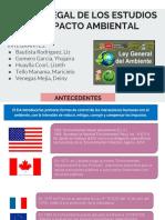 Marco Legal de Los Estudios de Impacto Ambiental