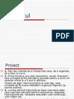 Etapele Realizarii Unui Proiect