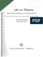 Brecht on Theater - Bertolt Brecht