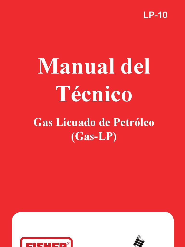 Manual glp emerson for Instalacion de gas lp