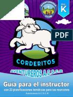 Corderitos - Guía Para El Instructor Asociación Central Sur de Costa Rica