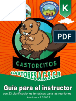 Castores - Guía Para El Instructor Asociación Central Sur de Costa Rica