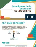 Paradigmas de La Educación - Conductismo