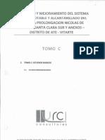 Amplicion y Mejoramiento Del Sistema de Agua Potable y Alcantarillado Del Esquema Prolongacion Nicolas de Pierola