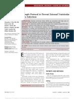 A Simple Protocol to Prevent External Ventricular.26