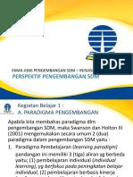 Inisiasi 3 Perspektif PSDM