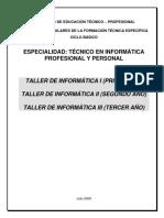 Mce Etp2009 Taller Informatica i II III (1)