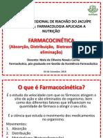 Farmacologia Para Nutrição - Farmacocinética