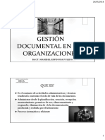 Gestion Documental en Las Organizaciones