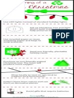 Green Crafting Christmas Infographic