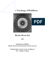 Basic Teachings of Buddhism