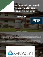 Atahualpa Fernández - Exponen en Panamá Que Uso de Paja y Mazorca Elimina Contaminantes Del Agua, Parte II