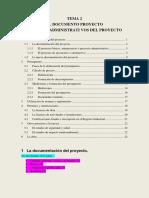 Tema2_El documento proyecto. Trámites administrativos. SUBRAYADO