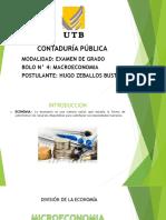 BOLO 4 - Macroeconomía Diapositivas