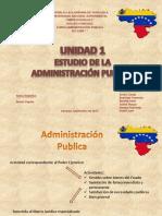 Administración  Pública Unidad I