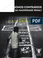 CFP Livro Maioridade Penal - POR QUE SOMOS CONTRÁRIOS À REDUÇÂO DA MAIORIDADE PENAL.pdf