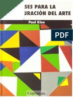 Paul Klee - Bases Para La Estructuración Del Arte (2012, Coyoacán)