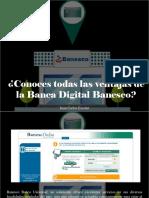 Juan Carlos Escotet - ¿Conoces Todas Las Ventajas de La Banca Digital Banesco?