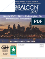 Globalcon Prospectus/ March 2011/ Philadelphia, PA