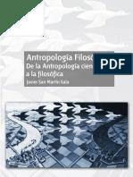 Filosofica de La Antropologia
