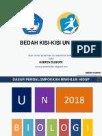 3. BEDAH KISI-KISI 2018- Kehidupan