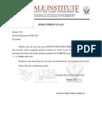 Surat Pernyataan Calon Peserta Iyse 2018
