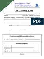 TCC - Fórmulario Discente
