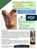 Tratamiento Edema Linfatico Venoso Metodo Leduc