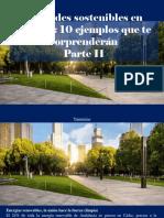 Yammine - Ciudades Sostenibles en España, 10 Ejemplos Que Te Sorprenderán, Parte II