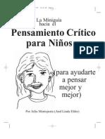 PENSAMIENTO CRITICO PARA NIÑOS