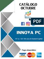 Catálogo InnovaPC Octubre