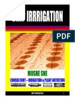 Drip Irrigation 2013