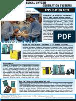 Medical Oxygen Generator Flyer