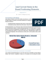 3 Shan e28093 Brand Current Status in the Market Brand Positioning Elements