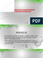 POM Module 3 Theory