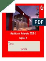 Torsion MECANICA DE MATERIALES